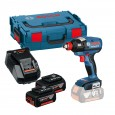 Bosch GDX 18 V-EC 18V Brushless Impact Driver / Wrench inc 2x 4.0Ah Batts 06019B9170