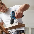Bosch GSB 10.8-2-LI Combi Drill & GDR 10.8-LI Impact Driver Twin Kit inc 2x 2.0Ah Batts 06019B697F