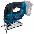 Bosch GST 18 V-LI B 18v Bow Handle Jigsaw inc 2x 4Ah Batts in L-Boxx