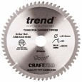 Trend CSB/CC21660 CraftPro Saw Blade Crosscut 216mm x 60 Teeth x 30mm