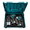 Makita CLX202AJ Drill Set 10.8v CXT Slide Twin Pack Combi Drill/Impact Driver
