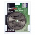 Trend CSB/PT16048 CraftPro Plunge Saw Blade 160mm x 48 Teeth x 20mm (Festool TS55)
