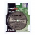 Trend CSB/PT16548 CraftPro Plunge Saw Blade 165mm x 48 Teeth x 20mm