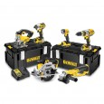 DeWalt DCK694P3 18v XR Cordless 6 Piece Power Tool Kit inc 3x 5.0Ah Batts