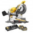 "DeWalt DHS780T2-GB 305mm (12"") 2x 54v FLEXVOLT Cordless Mitre Saw inc 2x DCB546 Batts"