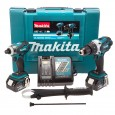 Makita DLX2005M 18v Impact Driver/Combi Drill Kit inc 2x 4Ah Batts