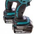 Makita DLX2005MJ 18v Impact Driver/Combi Drill Kit inc 2x 4Ah Batts in Makpac Case