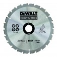 DeWalt DT1154-QZ Circular Saw Blade Construction 216mm x 30mm x 24 Teeth