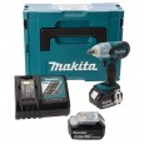 "Makita DTW251RMJ LXT 18v Cordless 1/2"" Impact Wrench inc 2x 4Ah Batteries"