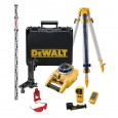 DeWalt DW075PK Full Self Levelling Rotary Laser Kit