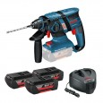 Bosch GBH 36 V-EC CP 36v Compact Brushless SDS+ Plus Rotary Hammer Drill inc 3x 2.0Ah Batts