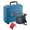 Bosch GLL 2-15 Cross Line Laser with BM3 Wall Mount in Carry Case