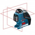 Bosch GLL 3-80 P Self Levelling Laser inc BM1 Wall Mount & LR2 Receiver in L-Boxx