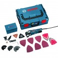 Bosch GOP 300 SCE Multi Cutter Pro Kit inc 48 Accs in L-Boxx