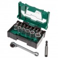 Hitachi 40030020 Ratchet Stackable Bit Box 24 Pieces