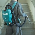 Makita DVC260Z Twin 18v LXT Li-Ion Cordless Backpack Vacuum Cleaner Body Only