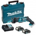 Makita JR103DWAE 10.8v CXT Slide Reciprocating Saw inc 2x 2.0Ah Batts