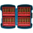 Makita P-51976 Long Life 50mm Screwdriver Bit Set Titanium Coated 28 Pieces