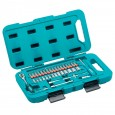"Makita P-90283 Socket & Ratchet Set 1/4"" Drive 40 Pcs"