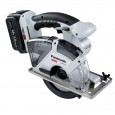 Panasonic EY45A2LJ2G31 Dual Voltage 14.4v/18v Circular Saw inc 2x 5.0Ah Batts