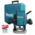 """Makita RP0900X 1/4"""" or 3/8"""" Plunge Router 110v"""