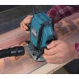 "Makita RP0900X 1/4"" Plunge Router with Straight Guide & Router Bits in Carry Case"