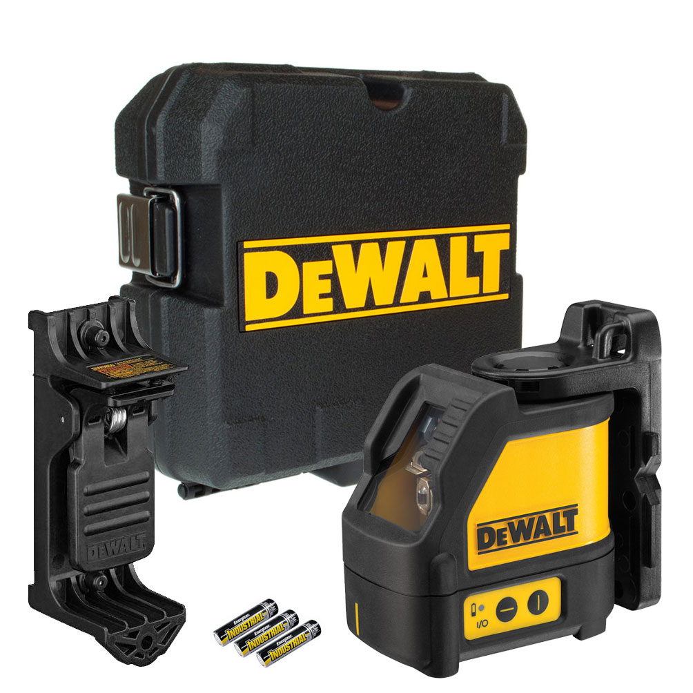 DeWalt DW088K Self Levelling Cross Line Laser Level Kit