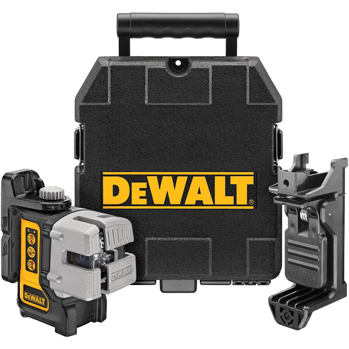 DeWalt DW089K Self Levelling 3-Beam Multi Line Layout Laser Kit