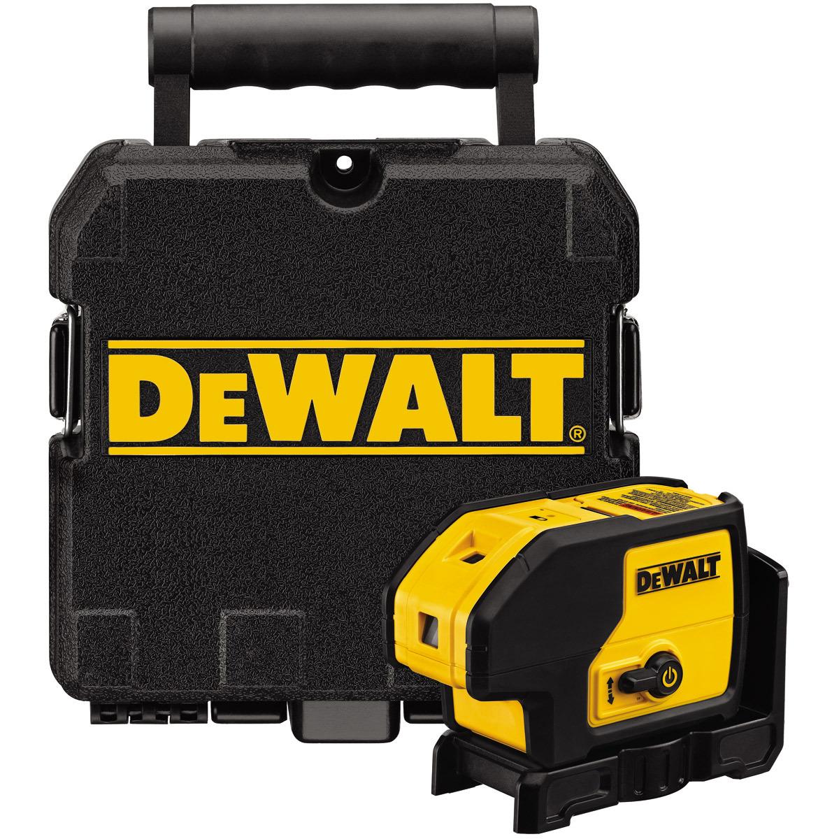 DeWalt DW085K-XJ 5 Beam Self Levelling Laser Pointer