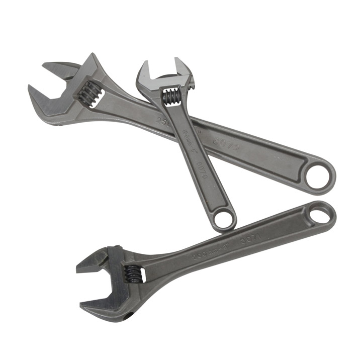 Bahco Series 80 Adjustable Wrench Triple Pack